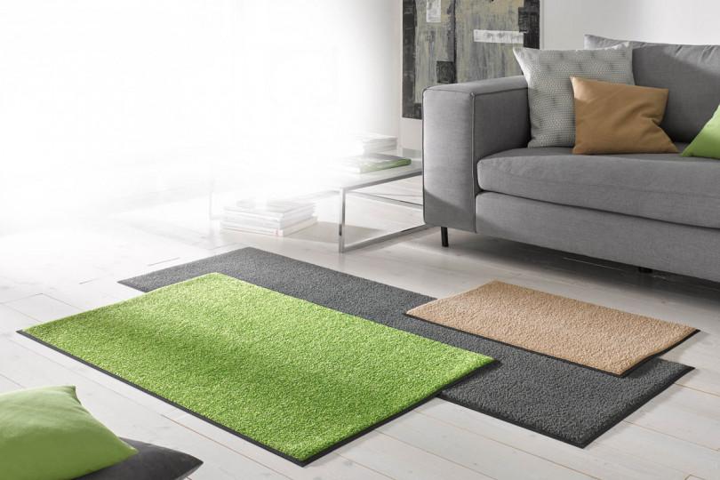 Monocolor mat