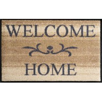Deurmat Welcome Home Beige