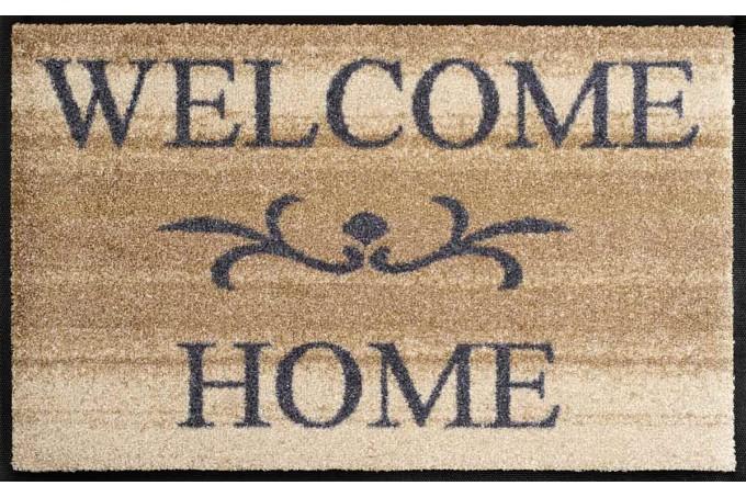 Deurmat Welcome Home Beige